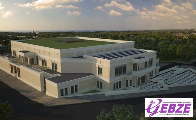 Darıca'ya Modern Kapalı Spor salonu