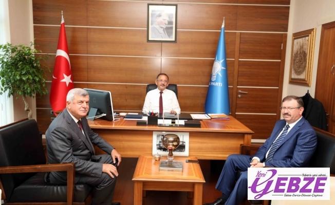 Karaosmanoğlu, Genel Merkez'de Kocaeli'yi anlattı