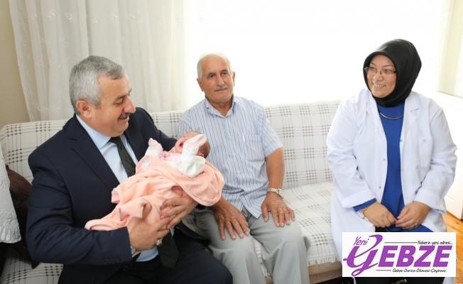 """Körfez'de 'Hoş Geldin Bebek"""" Projesi devam ediyor"""