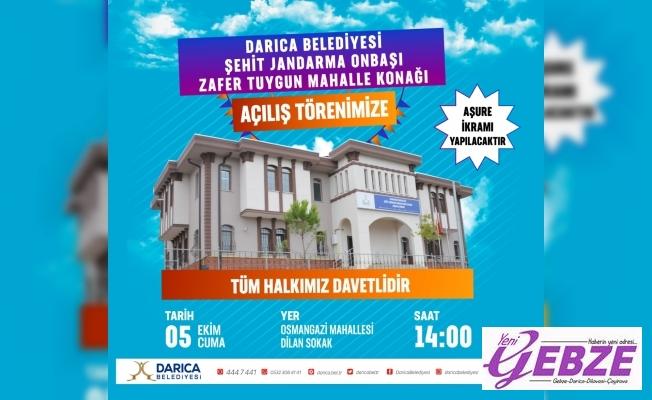 Osmangazi, Mahalle Konağı açılıyor