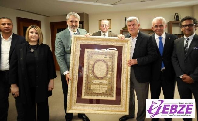 Başkan Karaosmanoğlu, ''Sporda stratejik ortağımız ASKF'dir''