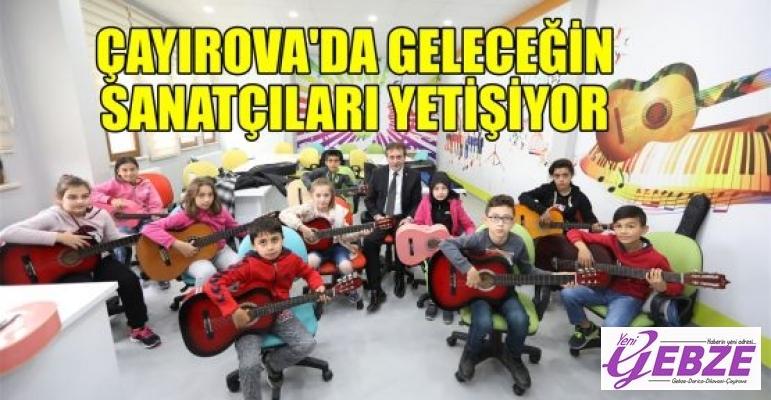 Çayırova'da geleceğin sanatçıları yetişiyor