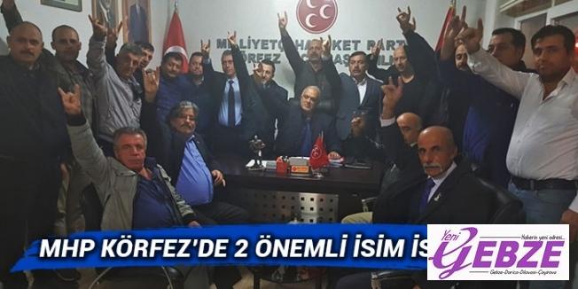 MHP Körfez'de 2 önemli isim istifa etti