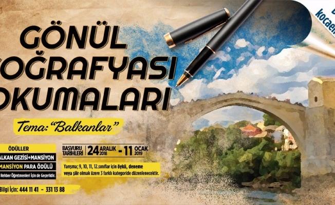 """Balkanlar temalı 'Gönül Coğrafyası Okumaları"""" başlıyor"""