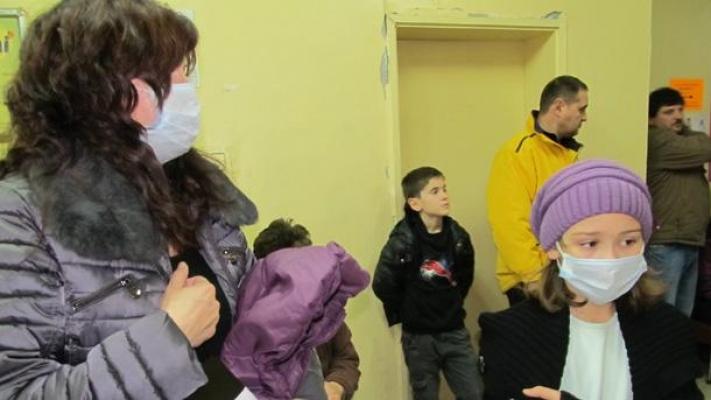 Komşu Bulgaristan'da büyük grip salgını!