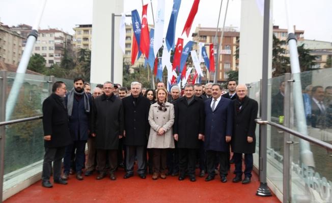 Malkoçoğlu Mehmet Bey Üst Geçidi tanıtıldı