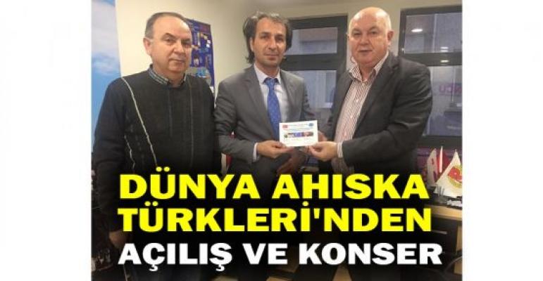 Dünya Ahıska Türkleri'nden açılış ve konser