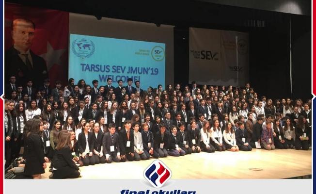Final Okulları J-Mun Kulübü Tarsus'ta