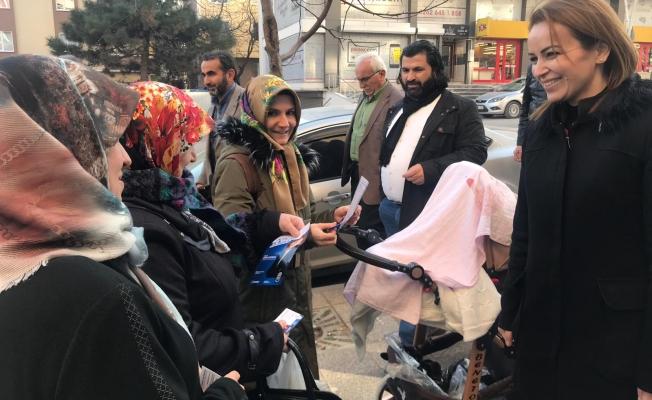 """Çetinkaya: 'BELEDİYE'DEN SAĞLIK HİZMETİ"""""""