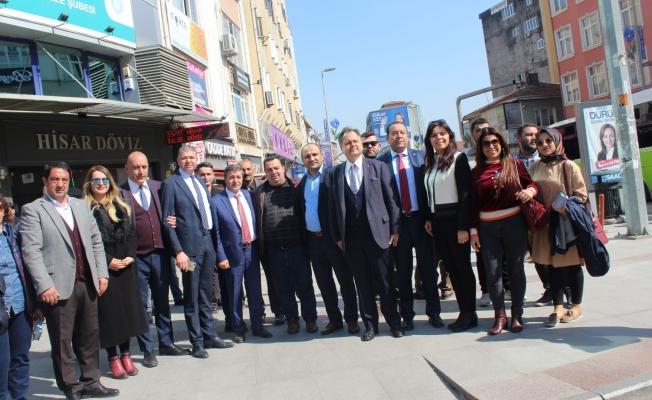 """Recep Dursun: 'Seçimi kazanıp kolları sıvayacağız"""""""