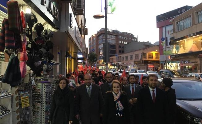 Saadet Gebze'den 'Sevgi Yürüyüşü'