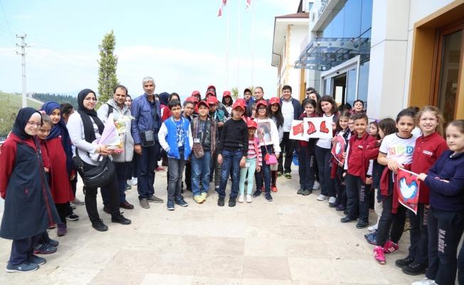 23 Nisan'ın ilk çocukları Kocaeli'ye geldi