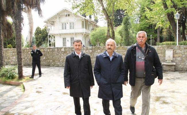 Başkan BüyükgözOsman Hamdi Bey'de
