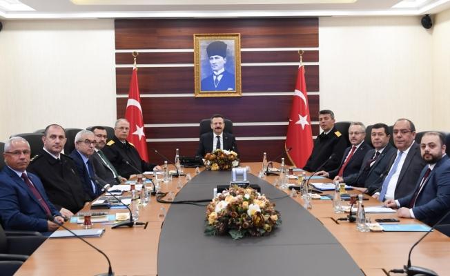 İl Güvenlik Toplantısı yapıldı
