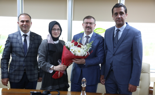 İMO'dan Genel Sekreter Bayram'a veda ziyareti