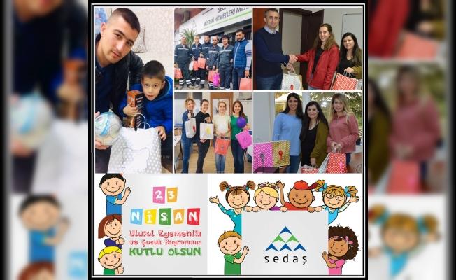 SEDAŞ 23 Nisan'da Çocukları Unutmadı