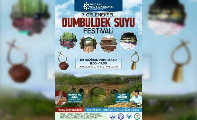 7. Dümbüldek Suyu Festivali 9 Haziran'da