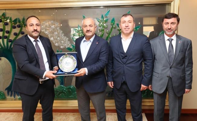 Başkan Büyükgöz'e  Özel Şampiyona Daveti