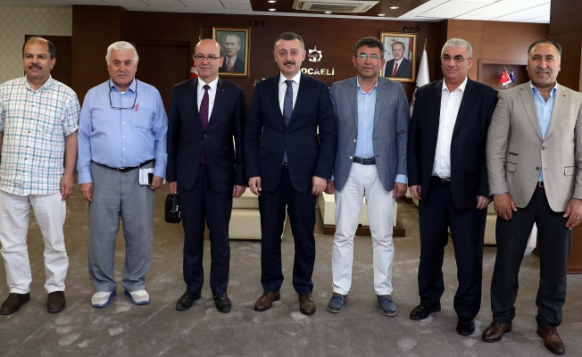 Başkan, Gebzeli SKT'ları kabul etti
