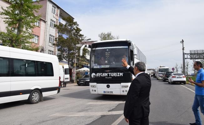 Başkan Şayir'den Annelere Boğaz Turu