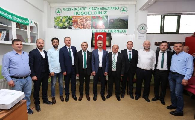 Çayırova Giresunlular'da  yeni Başkan Recep Akıllı