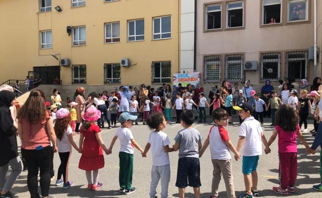 """Gebze Mustafa Paşa İlköğretimde 'Okul Dışarıda"""" etkinliği"""