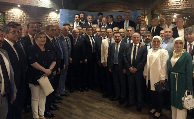 İYİ Parti'nin 81 il başkanı İmamoğlu için İstanbul'da buluştu