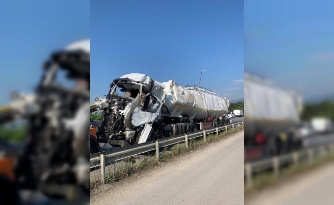 Tanker dehşet saçtı: 1 ölü, 5 yaralı