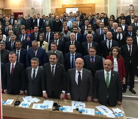 Türkiye Belediyeler Birliği üyeleri belirlendi