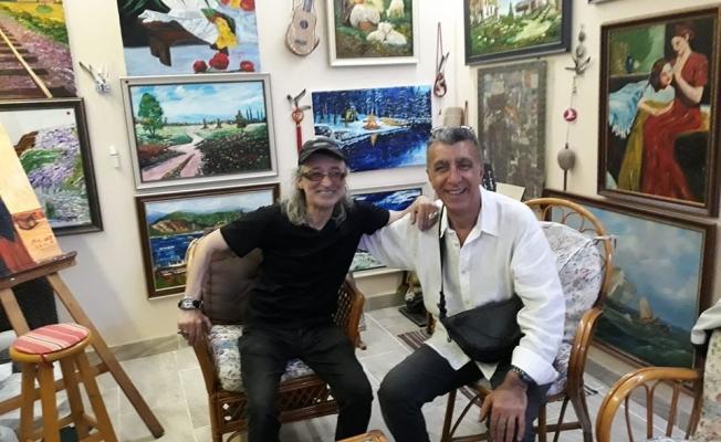 Sanatçı, Memleketi Gebze'de hasret giderdi!
