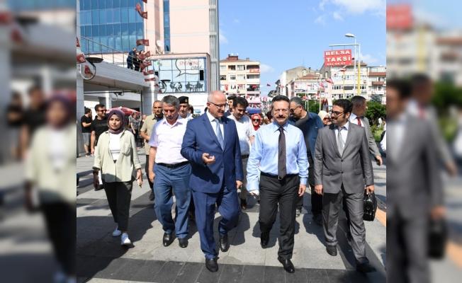 Vali Aksoy: ' Uyuşturucu tehlikesine karşı işbirliği şart!'