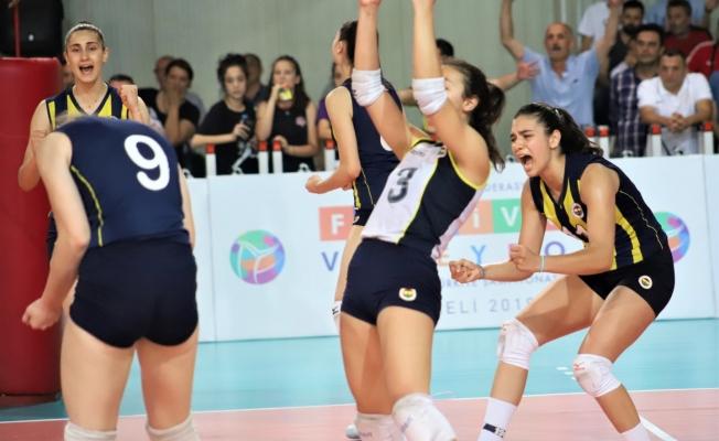 Yıldız Kızlar'da Türkiye Şampiyonu 'Fenerbahçe'