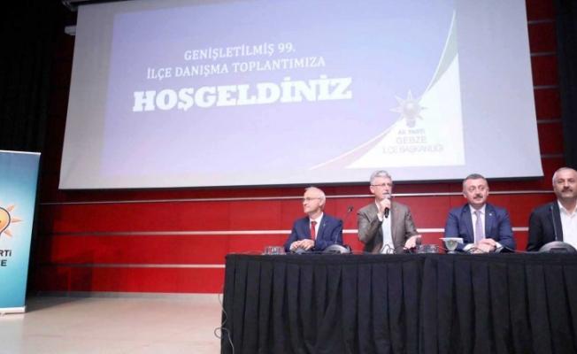 AK Parti Gebze: Üye sayısı 52 bin oldu