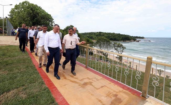 Başkan, Kandıra sahillerini inceledi