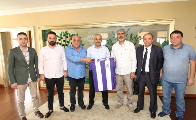 Gebzespor yeni yönetimi  Büyükgöz'e geldi