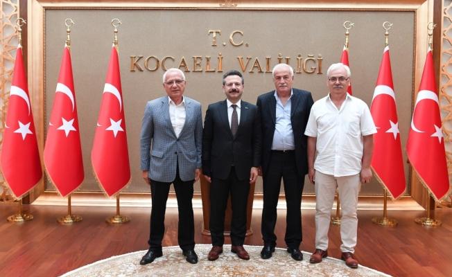 Kocaeli Abhaz Derneği,  Vali Aksoy'u ziyaret etti