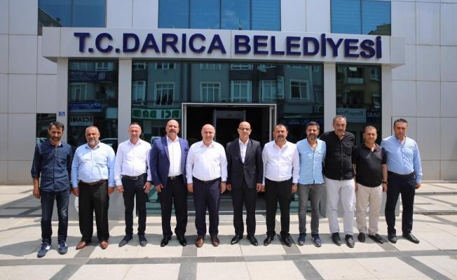 MHP İl Başkanı Ünlü,  Bıyık'ı ziyaret etti