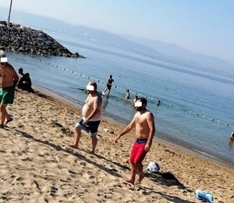 Darıca Plajı tam saha hizmette: Plajda 'Hayda braa Pehlivan' görüntüleri!