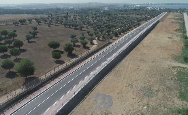 Gebze Fatih - Çayırova istasyon bağlantı yolları hizmete açıldı