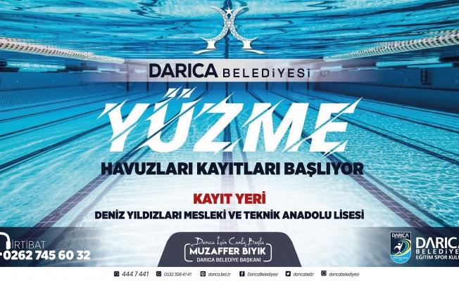 Darıca'da Havuzlara Kayıtlar Başladı