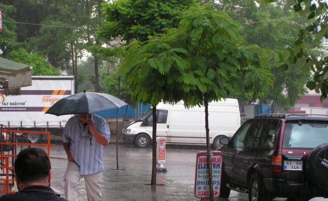 Fırtına ve yağış uyarısı geldi!