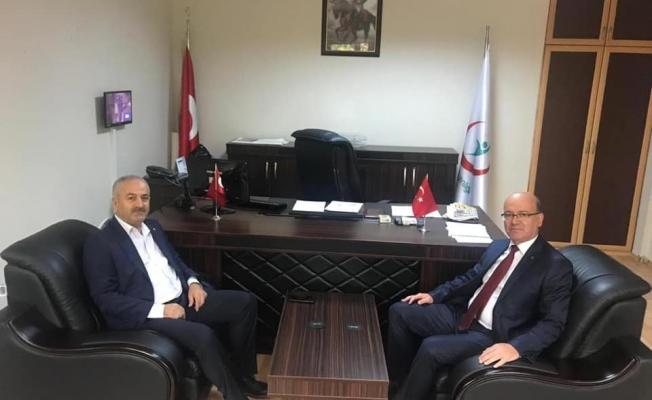 Kadıoğlu'nun ilk ziyaretçisi Başkan Büyükgöz oldu!