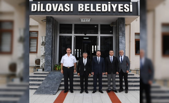 Vali Aksoy'dan Başkan Şayir'e ziyaret