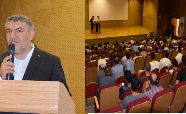 Başkan Şayir, personeli ile 6 ayı değerlendirdi