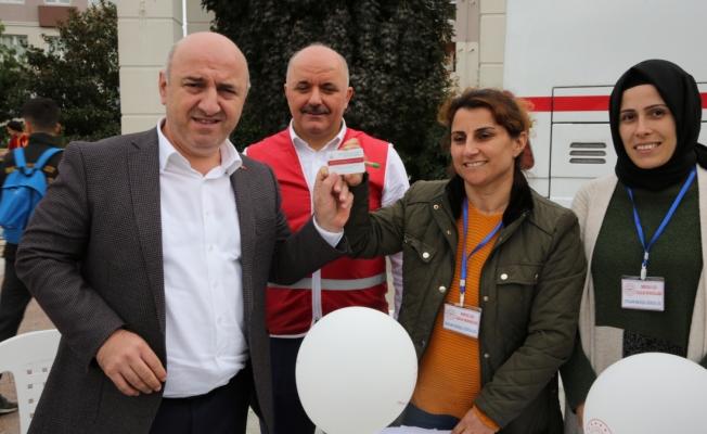 Belediye başkanı organlarını bağışladı