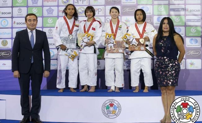 Büyükşehirli Merve, dünya şampiyonu