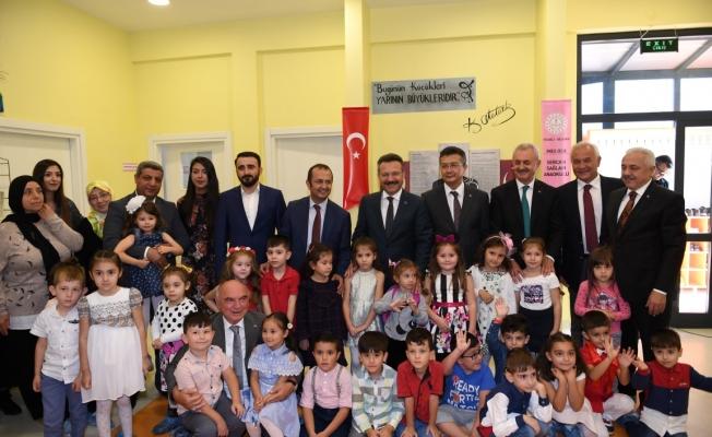 İMES 'Sercan Sağlam ' Anaokulu açıldı