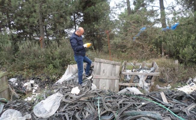 Balçık yine kirletildi, kirletene 5 bin lira ceza yazıldı
