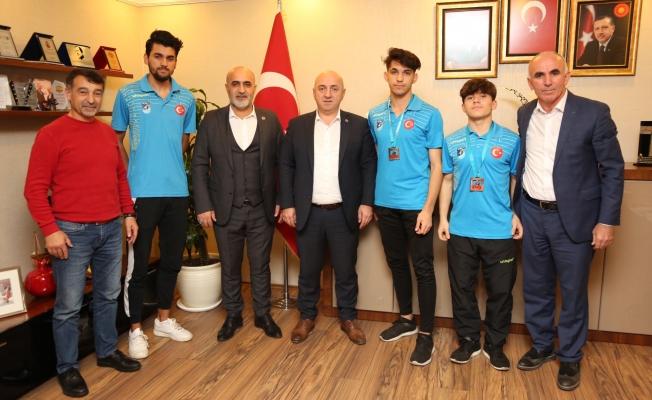 Bıyık: 'Spora desteğimiz devam edecek'