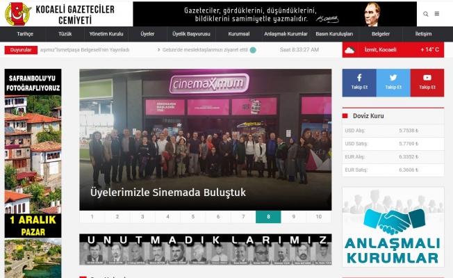 KOGACE web sitesi yenilendi